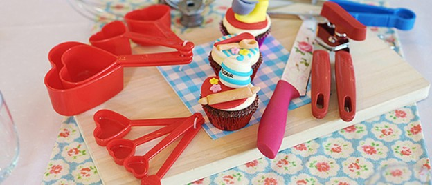 Retro Kitchen + Diner themed birthday party via Kara's Party Ideas KarasPartyIdeas.com Invitation, cake, printables, cupcakes, decor, desserts, etc! (1)