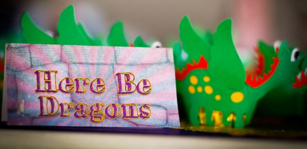 Knight & Dragons themed birthday party via Kara's Party Ideas KarasPartyIdeas.com #knightsanddragons #dragonparty #knightparty #karaspartyideas Printables, favors, cake, desserts, and more! (2)