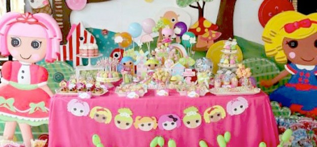 Lalaloopsy themed birthday party via Kara's Party Ideas KarasPartyIdeas.com #lalaloopsy #karaspartyideas Invitation, decor, supplies, favors, cake and more! (1)