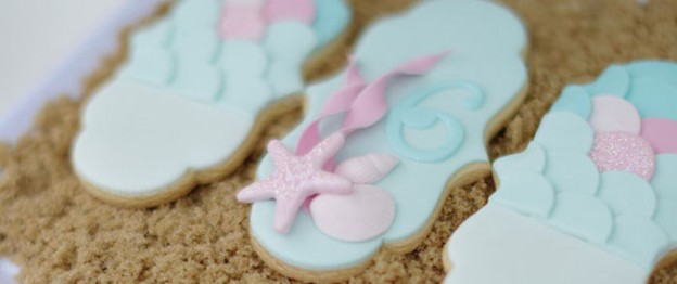 Mermaid themed birthday party via Kara's Party Ideas KarasPartyIdeas.com Printables, invitation, cake, decor, desserts, and more! #mermiads #mermaidparty #underthesea #karaspartyideas (1)