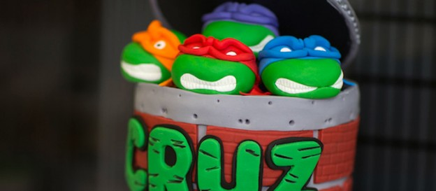 Ninja Turtles themed birthday party via Kara's Party Ideas KarasPartyIdeas.com Printables, cakes, favors, invitation, and more! #TMNT #ninjaturtles #karaspartyideas (1)
