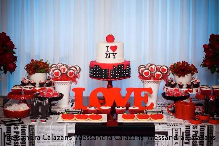 Karas party ideas new york city bridal shower via karas party new york city bridal shower via karas party ideas karaspartyideas iloveny iheartny junglespirit Choice Image