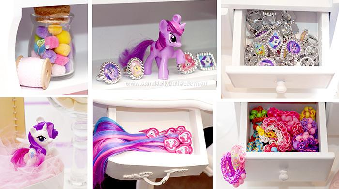 Karas Party Ideas My Little Pony themed birthday party via Karas