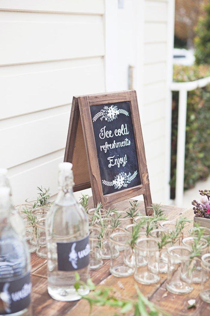 Kara s party ideas rustic bridal shower via