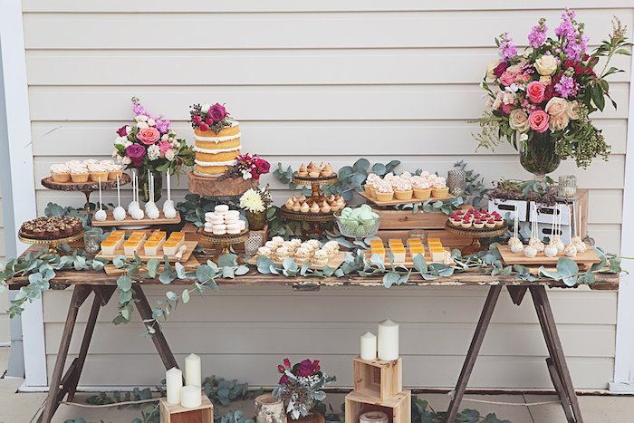 Kitchen Themed Bridal Shower Food Ideas