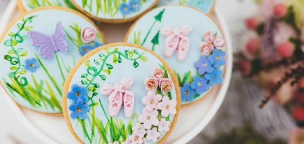 Secret Garden Ballet themed birthday party via Kara's Party Ideas KaraPartyIdeas.com #gardenparty #balletparty #secretgarden Cake, cupcakes, printables, recipes, games, and more! (2)