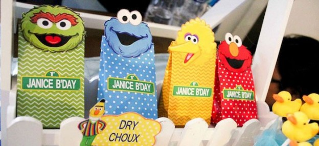 Adorable Sesame Street themed birthday party via Kara's Party Ideas KarasPartyIdeas.com Printables, cake, cupcakes, invitation, games and more! #karaspartyideas #sesamestreet (1)