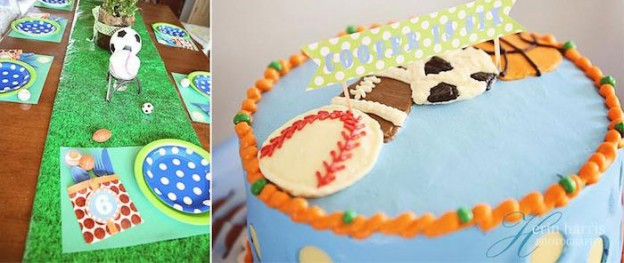 All Star + Sports themed birthday party via Kara's Party Ideas KarasPartyIdeas.com #sports #sportsparty #allstars #partyideas #partyplanning #partydesign (2)
