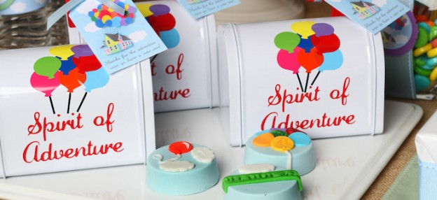 Disney's Up themed birthday party via Kara's Party Ideas KarasPartyIdeas.com Printables, cakes, invitation, cupcakes, desserts, and MORE! #disneysup #genderneutralparty #karaspartyideas (1)