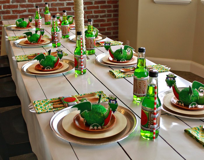 Dragon Themed Birthday Party Ideas