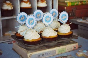 Vintage Christening + Baby Blessing Party via Kara' s Party Ideas KarasPartyIdeas.com Cakes, favors, cupcakes, games, and more! #vintageparty #babychristening #karaspartyideas (21)