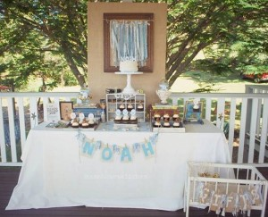 Vintage Christening + Baby Blessing Party via Kara' s Party Ideas KarasPartyIdeas.com Cakes, favors, cupcakes, games, and more! #vintageparty #babychristening #karaspartyideas (7)