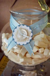 Vintage Christening + Baby Blessing Party via Kara' s Party Ideas KarasPartyIdeas.com Cakes, favors, cupcakes, games, and more! #vintageparty #babychristening #karaspartyideas (5)
