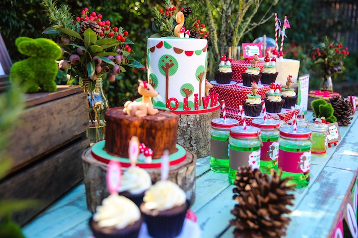 Kara S Party Ideas Woodland Birthday Party Ideas Themes