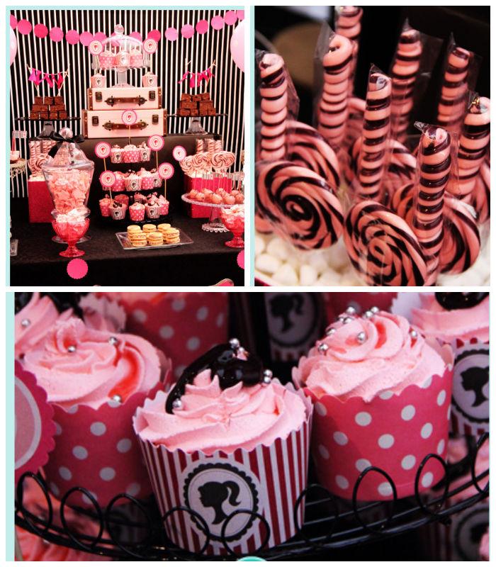 Kara's Party Ideas Barbie Themed Birthday Party Via Kara's