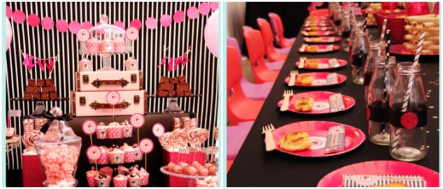 Barbie themed birthday party via Kara's Party Ideas KarasPartyIdeas.com Cake, decor, cupcakes, favors, games, and more! #barbieparty (1)