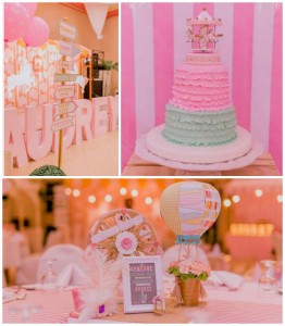 Pastel Vintage Carnival themed birthday party via Kara's Party Ideas KarasPartyIdeas.com Printables, cake, invitation, decor, favors, supplies, desserts, and more! #girlycarnivalparty #carnivalparty (2)