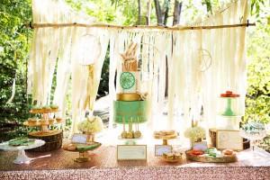 Pastel Dream Catcher themed birthday party via Kara's Party Ideas KarasPartyIdeas.com Printables, cake, invitation, decor, cupcakes, recipes, supplies, etc! #dreamcatcherparty #dreamcatcher #karaspartyideas (14)