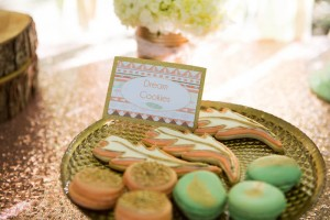 Pastel Dream Catcher themed birthday party via Kara's Party Ideas KarasPartyIdeas.com Printables, cake, invitation, decor, cupcakes, recipes, supplies, etc! #dreamcatcherparty #dreamcatcher #karaspartyideas (7)