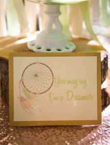 Pastel Dream Catcher themed birthday party via Kara's Party Ideas KarasPartyIdeas.com Printables, cake, invitation, decor, cupcakes, recipes, supplies, etc! #dreamcatcherparty #dreamcatcher #karaspartyideas (6)