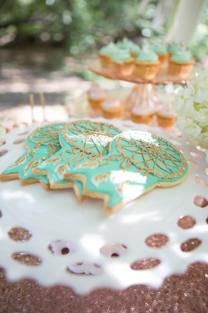 Kara's Party Ideas Pastel Dream Catcher themed birthday ...