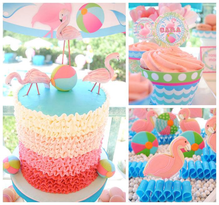 Karas party ideas flamingo pool party via karas party ideas flamingo pool party via karas party ideas karaspartyideas printables cake decor sciox Choice Image