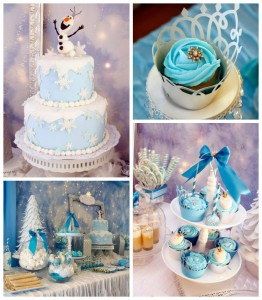 Frozen winter wonderland themed birthday party via Kara's Party Ideas KarasPartyIdeas.com Printables, cake, favors, decor, cupcakes, recipes, supplies, etc! #frozen #disneysfrozen #frozenparty (2)