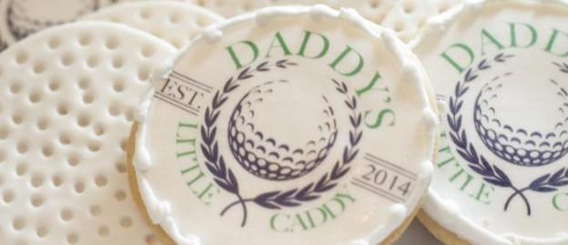 Daddy's Little Caddy themed baby shower via Kara's Party Ideas KarasPartyIdeas.com Printables, cake, tutorials, decor, invitation, tutorials, desserts, and more! #golf #golfparty #golfbabyshower #boybabyshower (1)
