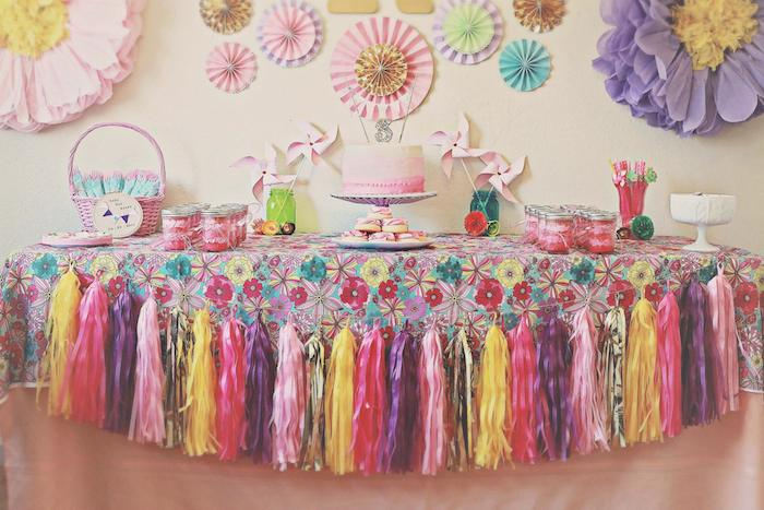 Kara S Party Ideas Vintage Kitten Themed Birthday Party