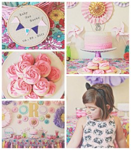 Vintage Kitten themed birthday party via Kara's Party Ideas KarasPartyIdeas.com Printables, favors, cake, cupcakes, decor, invitation, supplies, desserts, etc! #kittenparty #vintagekitten #kittyparty #springparty #karaspartyideas (1)