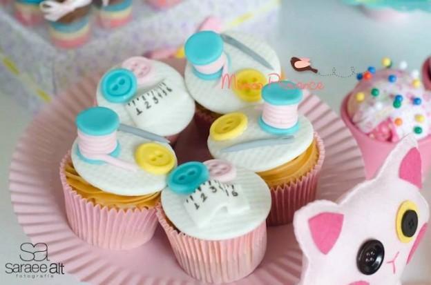 Lalaloopsy sewing workshop birthday party via Kara's Party Ideas KarasPartyIdeas.com Cake, decor, printables, tutorials, cupcakes, tutorials, and more! #lalaloopsy #lalaloopsyparty #sewingparty (32)