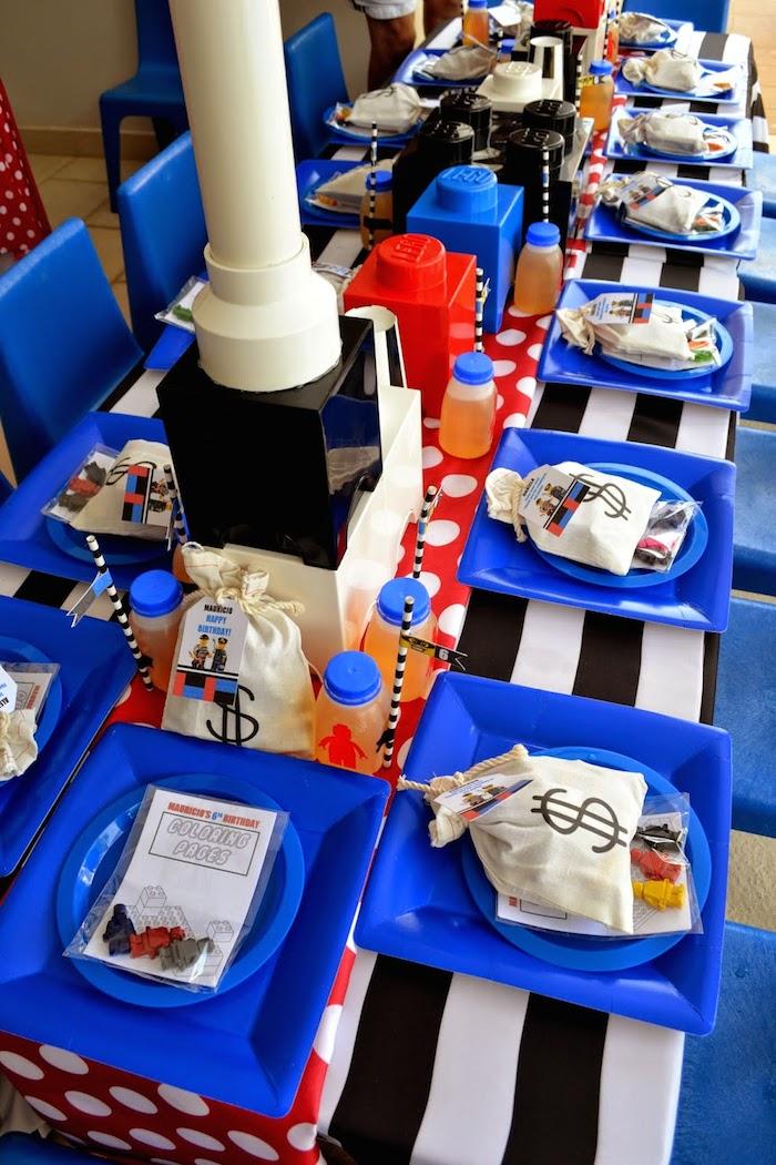 Kara S Party Ideas Lego City Police Themed Birthday Party