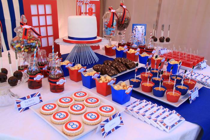 Karas Party Ideas London Themed Birthday Party Via Karas Party - Childrens birthday party ideas in london