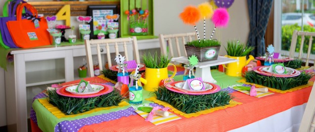 Lorax themed birthday party via Kara's Party Ideas KarasPartyIdeas.com Cake, printables, decor, recipes, stationery, desserts, and more! #thelorax #lorax #drseuss #drseussparty #loraxparty #karaspartyideas (2)