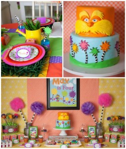 Lorax themed birthday party via Kara's Party Ideas KarasPartyIdeas.com Cake, printables, decor, recipes, stationery, desserts, and more! #thelorax #lorax #drseuss #drseussparty #loraxparty #karaspartyideas (1)