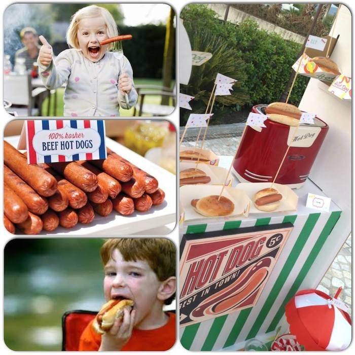 Luna Park Carnival Fair Themed Birthday Party Via Karas Ideas KarasPartyIdeas Cake