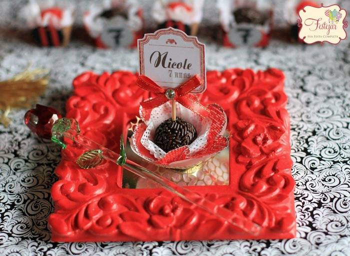 Medieval Times Princess Themed Birthday Party Via Karas Ideas KarasPartyIdeas Cake Decor