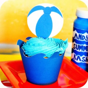 Olaf's Summer Bash + Frozen themed birthday party via Kara's Party Ideas KarasPartyIdeas.com Printables, cake, invitation, decor, supplies, games, etc! #olafparty #frozenparty #frozen #disneysfrozen #summerbash #beachparty (10)