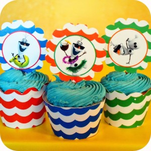 Olaf's Summer Bash + Frozen themed birthday party via Kara's Party Ideas KarasPartyIdeas.com Printables, cake, invitation, decor, supplies, games, etc! #olafparty #frozenparty #frozen #disneysfrozen #summerbash #beachparty (34)