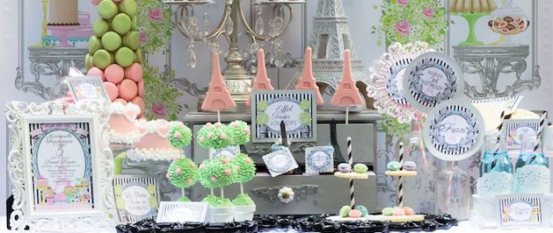 Paris Patisserie themed birthday party via Kara's Party Ideas KarasPartyIdeas.com Cake, decor, printables, invitation, games, and more! #parisparty #parispatisserie (2)