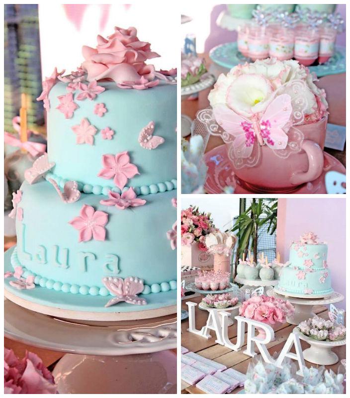 Garden Themed Kitchen Decor: Kara's Party Ideas Pastel Garden Themed Birthday Party Via