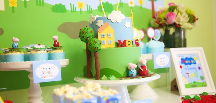 Kara S Party Ideas Peppa Pig Birthday Party