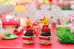 Picnic themed 1st birthday party via Kara's Party Ideas KarasPartyIdeas.com Printables, cake, invitation, desserts, favors, supplies, etc! #picnic #picnicparty (24)
