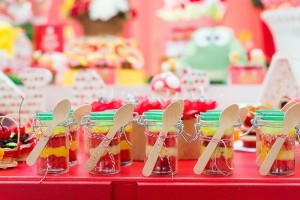 Picnic themed 1st birthday party via Kara's Party Ideas KarasPartyIdeas.com Printables, cake, invitation, desserts, favors, supplies, etc! #picnic #picnicparty (18)