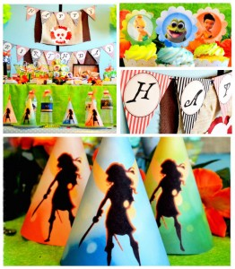 Pirate Fairy themed birthday party via Kara's Party Ideas KarasPartyIdeas.com Printables, cake, cupcakes, favors, games, and more! #fairyparty #tinkerbell #tinkerbellparty #pirateparty (1)