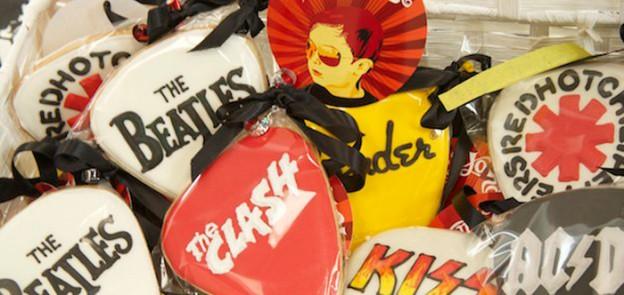 Rockstar themed birthday party via Kara's Party Ideas KarasPartyIdeas.com Pritables, cake, decor, tutorials, recipes, favors, and more! #rockstar #rockstarparty #rockandroll #rockandrollparty (2)