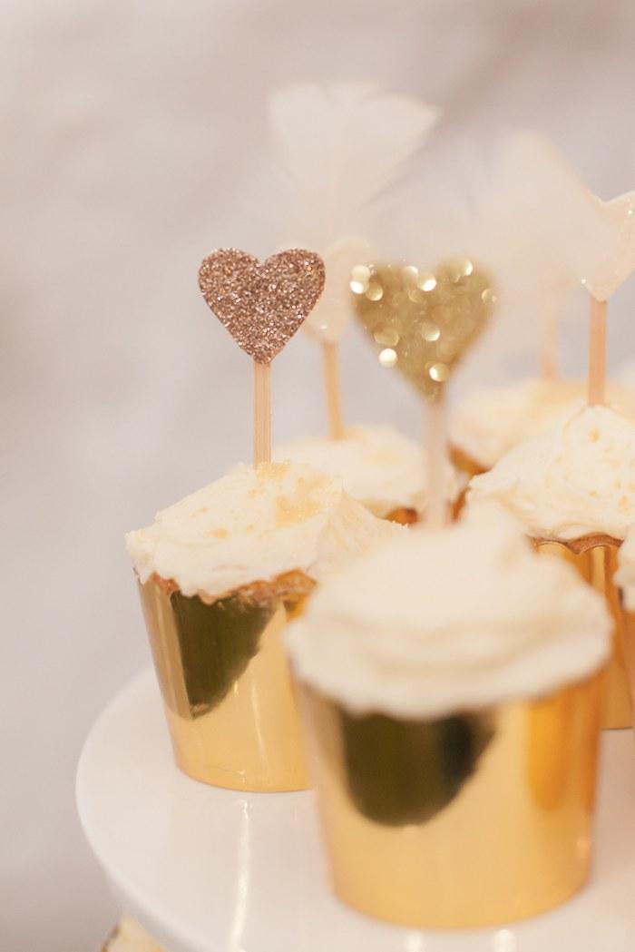 Kara s Party Ideas Sparkle themed 40th birthday party via