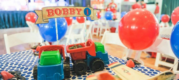 Vintage Toy Land 1st birthday party via Kara's Party Ideas KarasPartyIdeas.com Cake, decor, supplies, cupcakes, recipes, favors, games, and more! #vintagetoy #toylandparty (2)