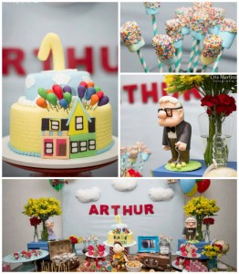 Up themed birthday party via Kara's Party Ideas KarasPartyIdeas.com Cake, decor, cupcakes, printables, favors, games, and more! #disneysup #upparty (1)