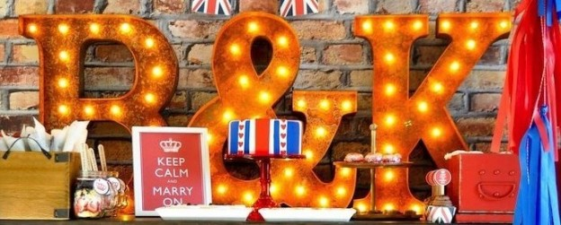 Keep Calm and Marry on British inspired couples bridal shower via Kara Allen | Kara's Party Ideas KarasPartyIdeas.com